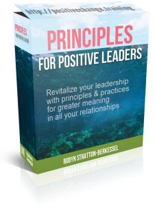 Principles for positive leaders